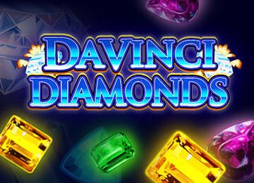 Pon tu suerte a prueba con DaVinci Diamonds Tragamonedas