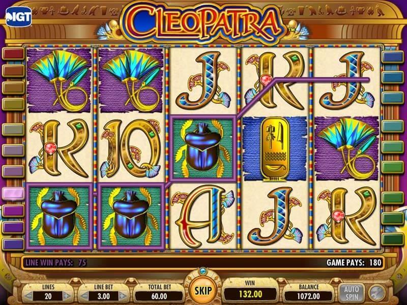 La formidable tragamonedas Cleopatra: ¡juega y gana!